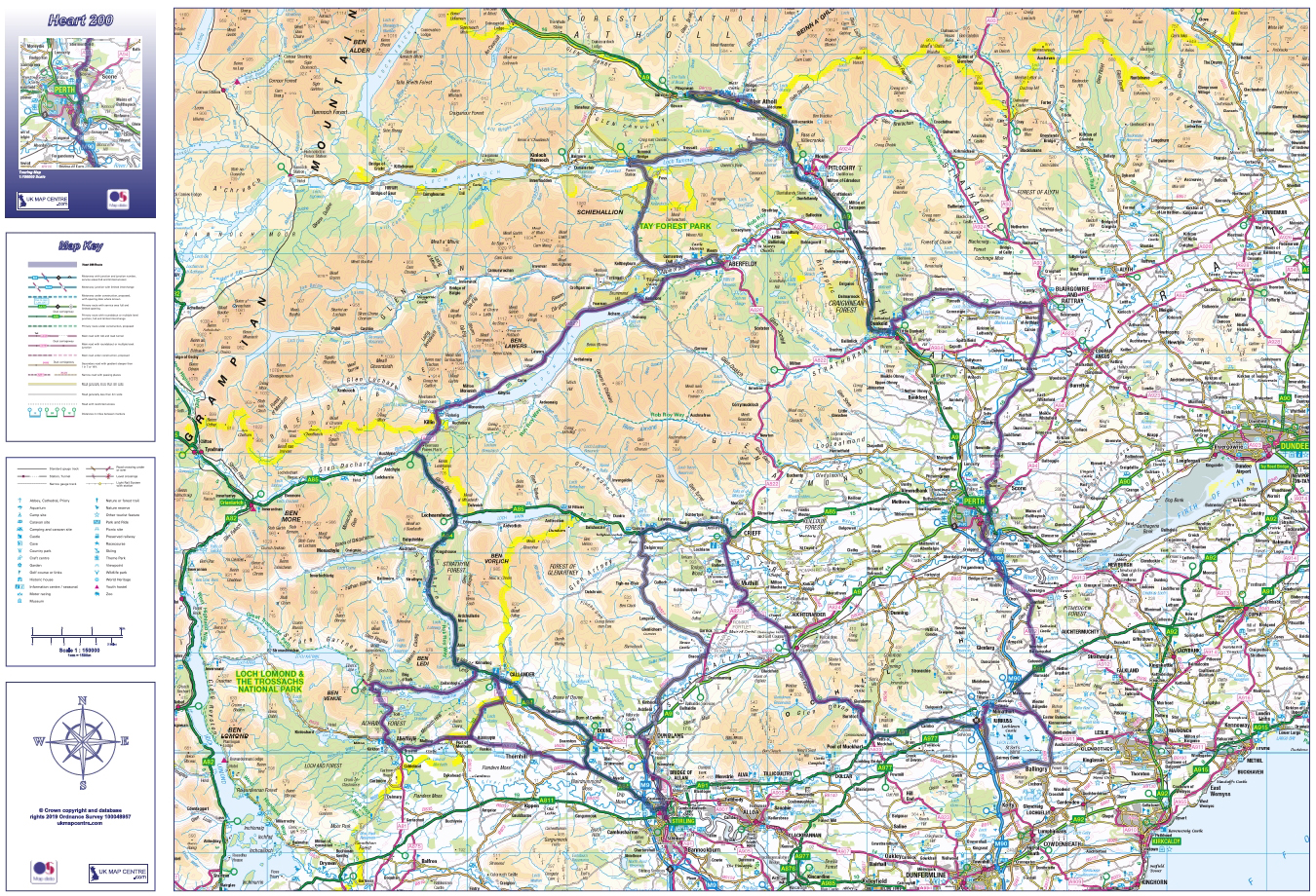 UK Map Centre – Ordnance Survey Mapping and Data Supplier