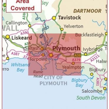 Postcode City Sector Map - Plymouth - Coverage