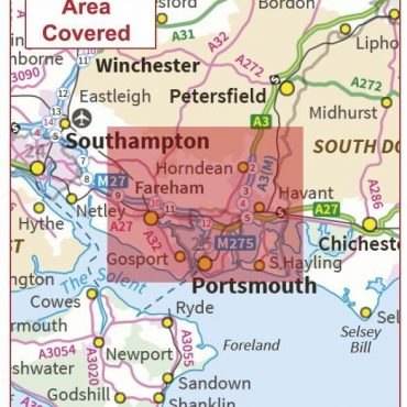 Postcode City Sector Map - Portsmouth - Coverage