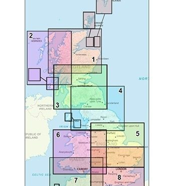 Full UK Postcode District Map Set - Coverage