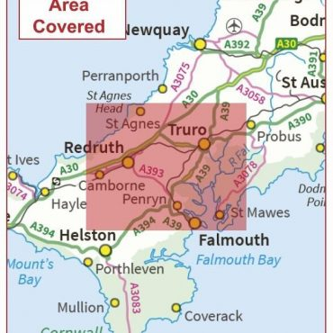 Postcode City Sector Map - Truro - Coverage