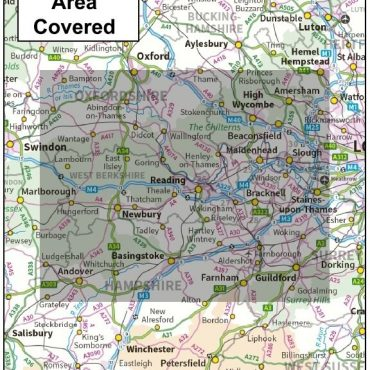 Berkshire County Boundary Map - Coverage