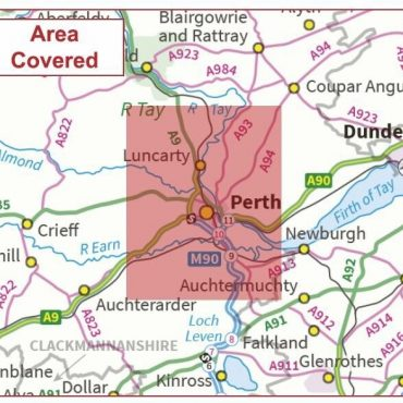 Postcode City Sector Map - Perth - Coverage