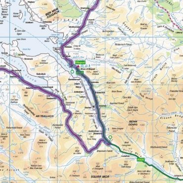 North Coast 500 Route Map - Detail