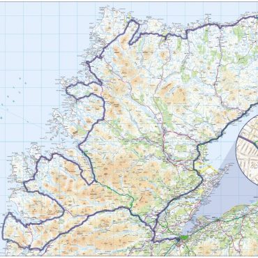 North Coast 500 Route Map - Overview