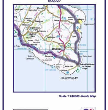 South West Coastal 300 Route Map - Cover