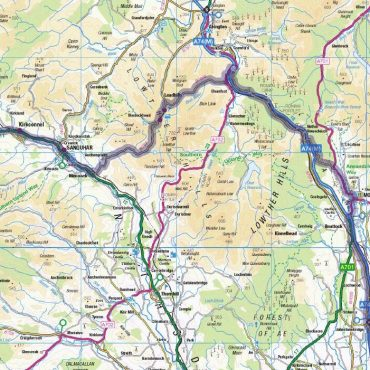 South West Coastal 300 Route Map - Detail