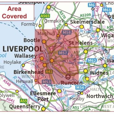 Postcode City Sector Map - Liverpool - Coverage