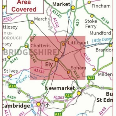 Postcode City Sector Map - Ely - Coverage