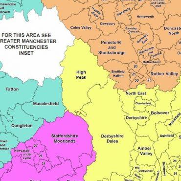 Regional UK Parliamentary Maps - Detail