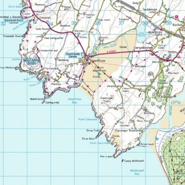 Isle of Anglesey Map - Detail