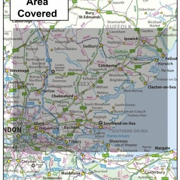 Essex County Boundary Map - Cover