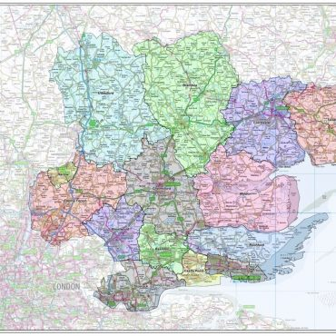 Essex County Boundary Map - Overview