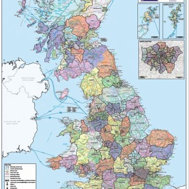 National Admin Boundary Map 1 - Overview