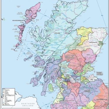 National Admin Boundary Map 2 - Overview