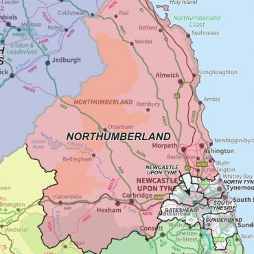 National Admin Boundary Map 6 - Detail