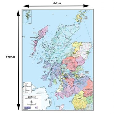 National Admin Boundary Map 2 - Dimensions