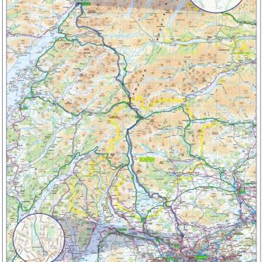 West Highland Way Compact Route Map - Overview