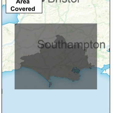 Dorset County Boundary Map - Coverage