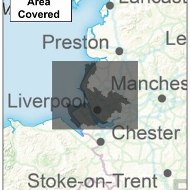 Merseyside County Boundary Map - Coverage