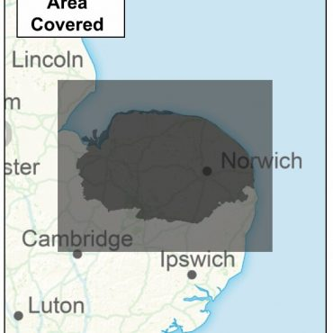 Norfolk County Boundary Map - Coverage