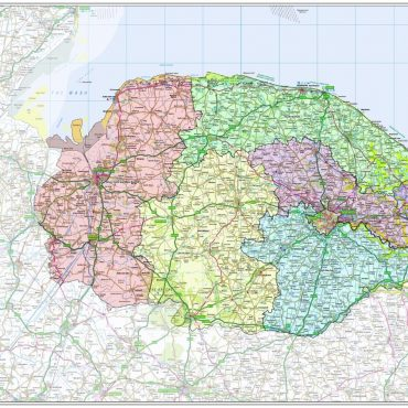 Norfolk County Boundary Map - Overview