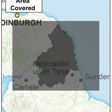 Northumberland County Boundary Map - Coverage