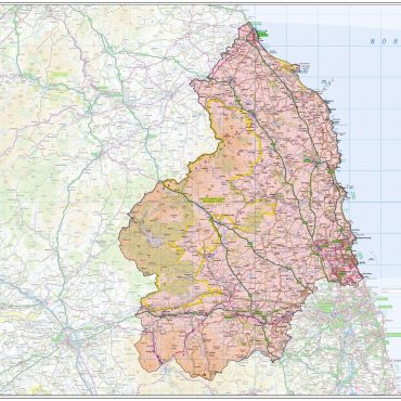 Northumberland County Boundary Map - Overview