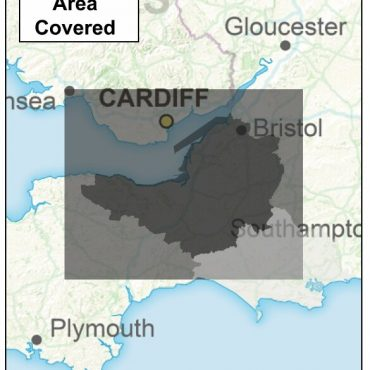 Somerset and Bristol County Boundary Map - Coverage