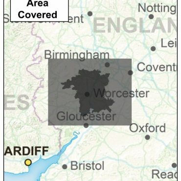 Wiltshire County Boundary Map - Coverage