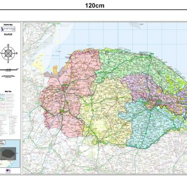 Norfolk County Boundary Map - Dimensions