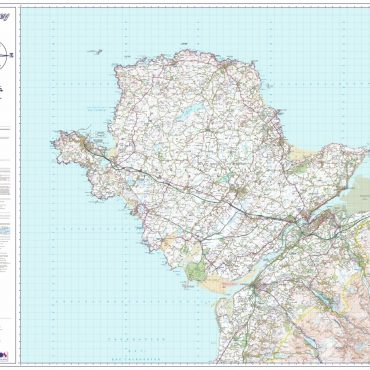 Isle of Anglesey Map - Overview