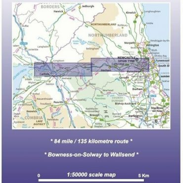 Hadrian's Wall Route Map - Coverage and Route