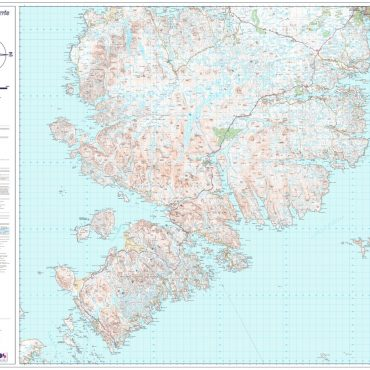 Isle of Lewis and Harris - North and South Series - South Overview