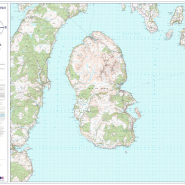 Isle of Arran Map - Overview - No Insets