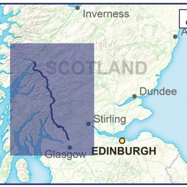 West Highland Way Compact Route Map - Coverage