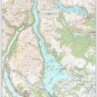 Loch Lomond - Compact Map - Overview