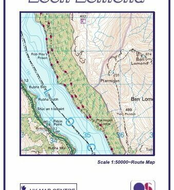 Loch Lomond - Compact Map - Cover