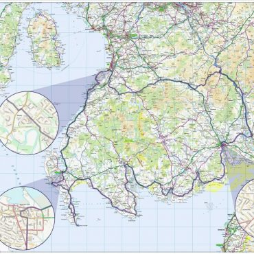 South West Coastal 300 Route Map - Overview