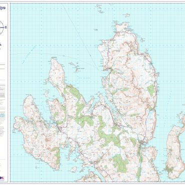 Isle of Skye - North - Overview - No Insets