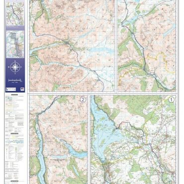 West Highland Way Route Map - Overview