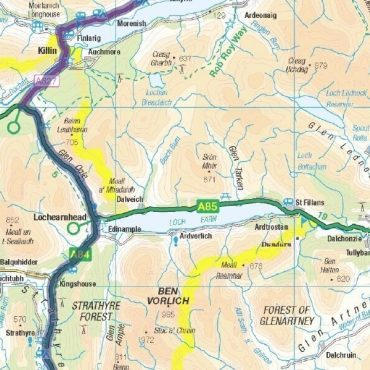 Heart 200 Route Map - Detail