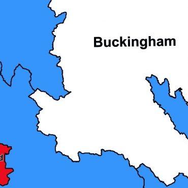 UK Parliamentary Map 2019 - Colour - Detail