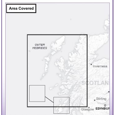 Admin Boundary Map 2 - Western Scotland & The Western Isles - Coverage