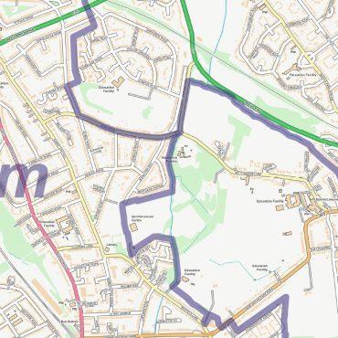 City Street Map - London Full Series - Detail