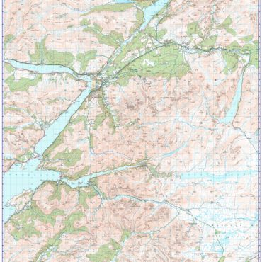 Ben Nevis - 1:50000 Scale Map Overview