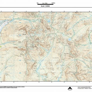 Scafell Pike 25k A3 Landscape - Coverage