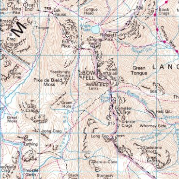 Scafell Pike - Detail